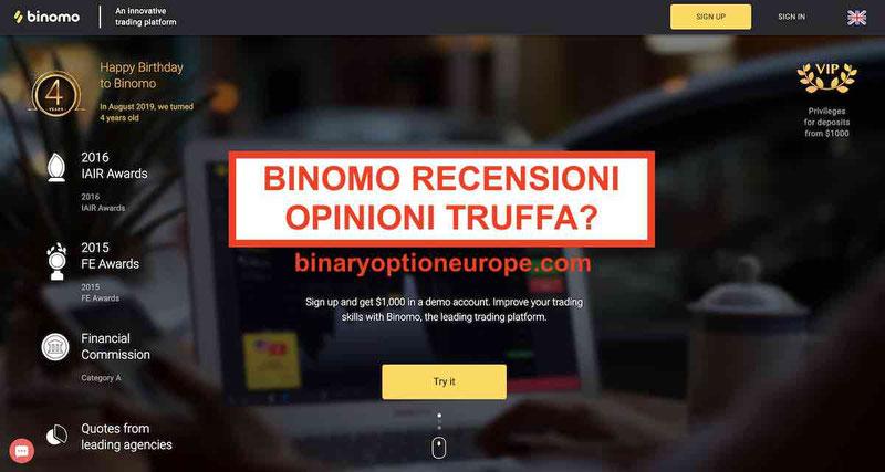 Binomo recensioni opinioni truffa o funziona? [Guida 2019]