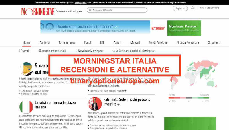 morningstar italia recenioni opinioni negative alternative
