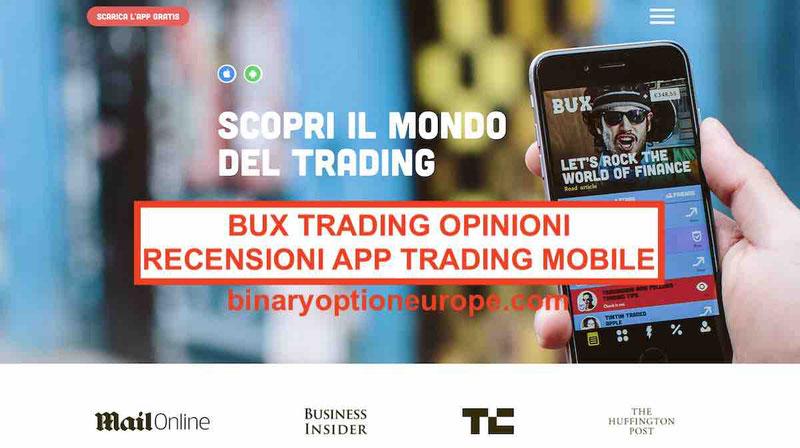 Bux trading getbux.it migliori alternative Guida 2019
