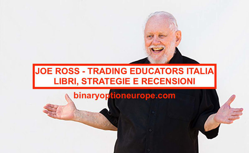 Joe Ross Italia: libri strategie recensioni trading educators