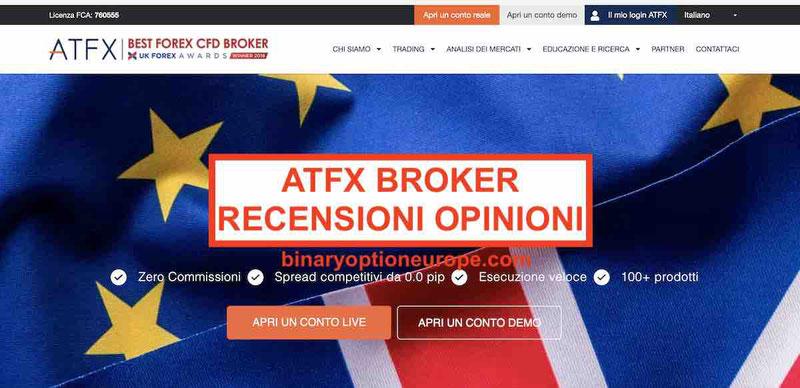 ATFX recensioni opinioni trading broker atfx.com