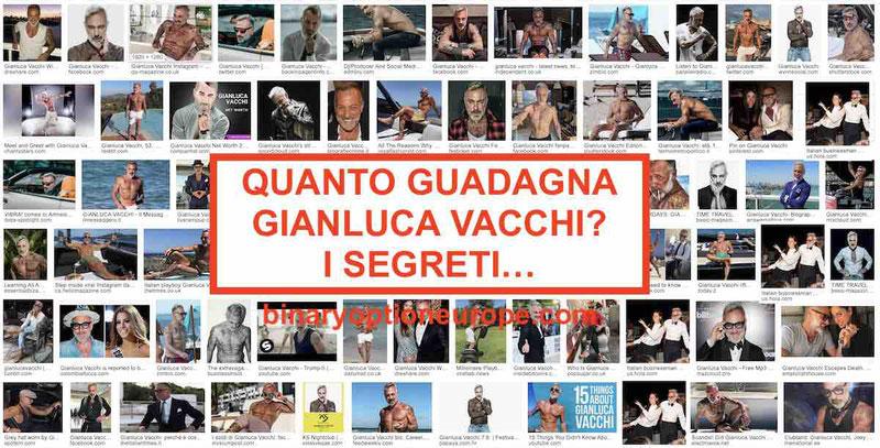 Quanto guadagna Gianluca Vacchi: patrimonio e fidanzate 2020-2021