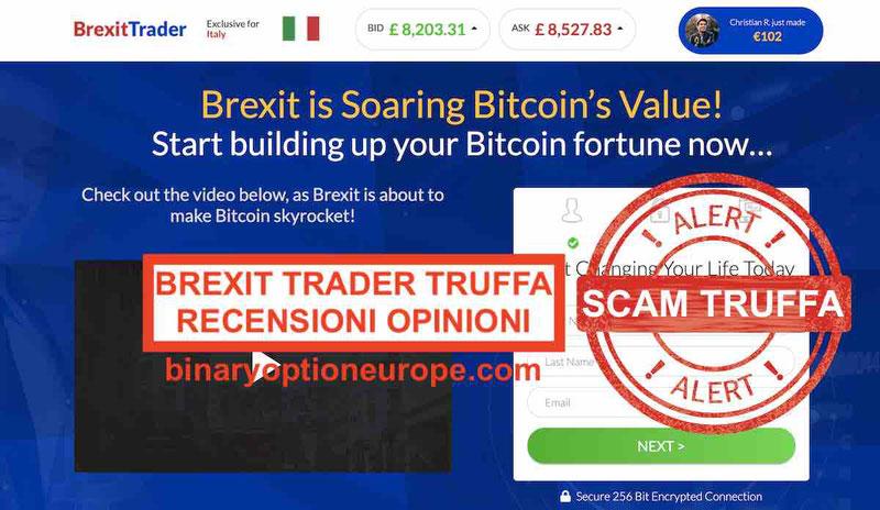 brexit trader truffa funziona opinioni recensioni