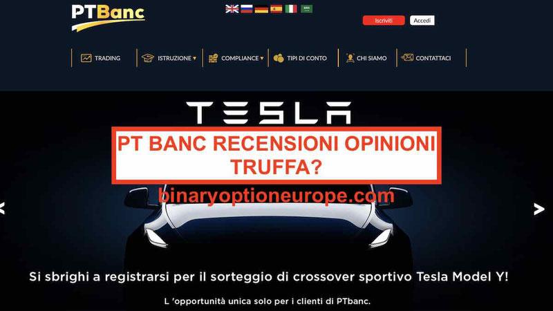 PT Banc opinioni recensioni truffa Pareri forum Italia