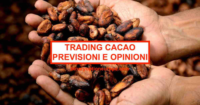 Trading Cacao: previsioni e broker online alternative