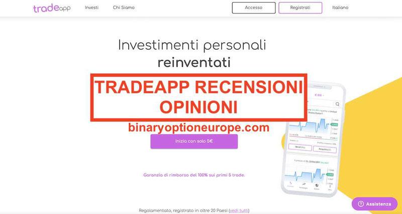 TradeApp opinioni recensioni: funziona o truffa? [Guida completa]