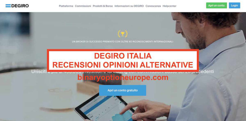 ▷ Degiro Italia opinioni recensioni [2020] truffa? Conviene demo e alternative?