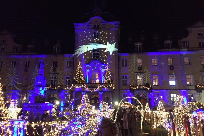 Schloss Bückeburg im Lichterglanz