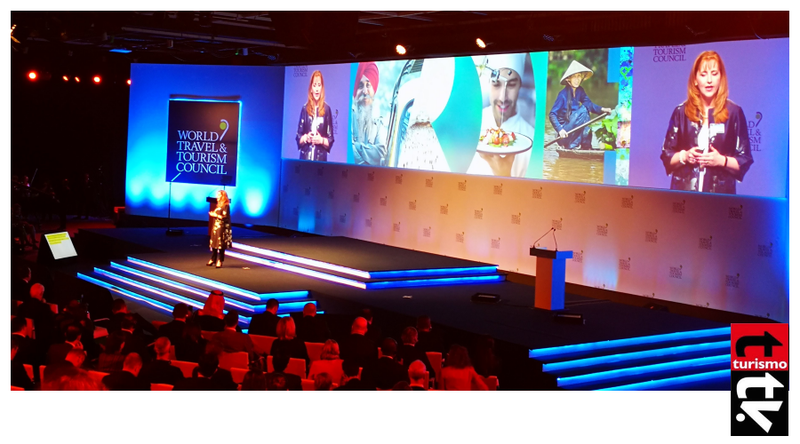 Gloria Guevara, Presidenta y CEO del WTTC inaugura el Global Summit de Buenos Aires