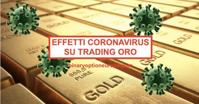 Quali sono gli effetti del Coronavirus COVID sul trading oro