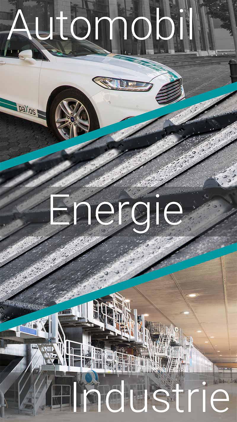 paXos Branchen: Automobil, Energie und Industrie