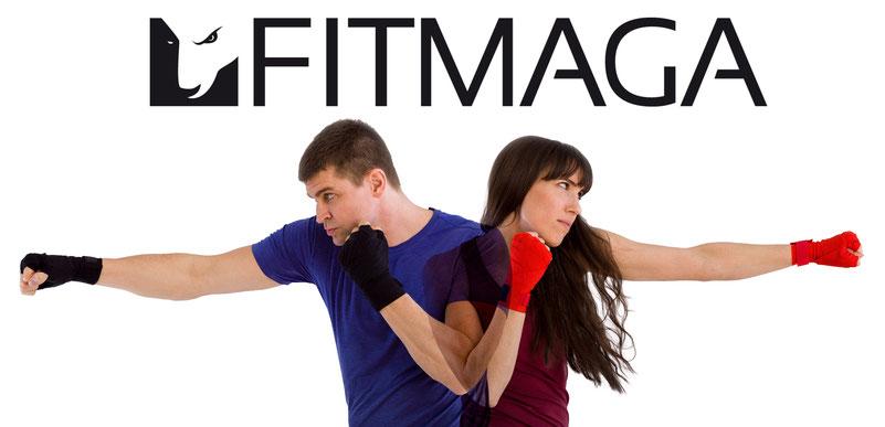 Wer sich zu Hause fit halten möchte, kann unser FITMAGA Online-Programm nutzen