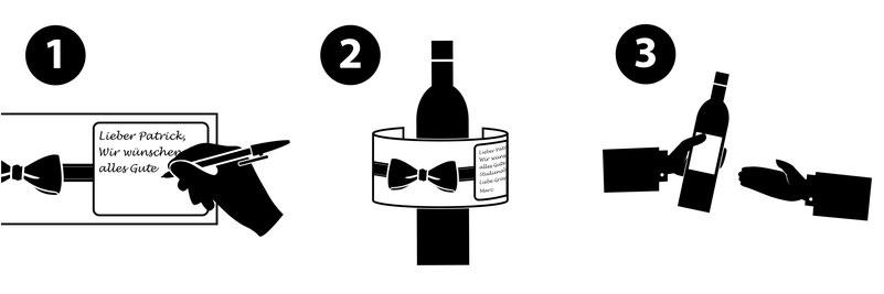 Erfahren Sie, wie Sie in drei simplen Schritten mit mehr Stil Wein schenken