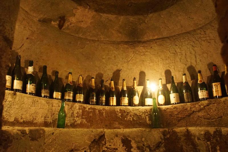 Camera sotterranea principale nell'Infernot Provera- Camagna