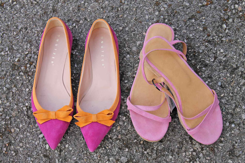 Second-Hand: Designer-Pumps und Sandalen
