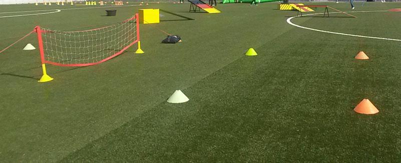 Fussballtennis spielen Frankfurt Fussball Tennis Verleih Eventmodule Torwand mieten Fussballmodule Attraktion