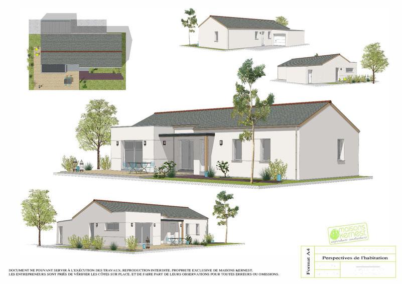 Maisons Kernest, le constructeur maison conquereuil (44290)