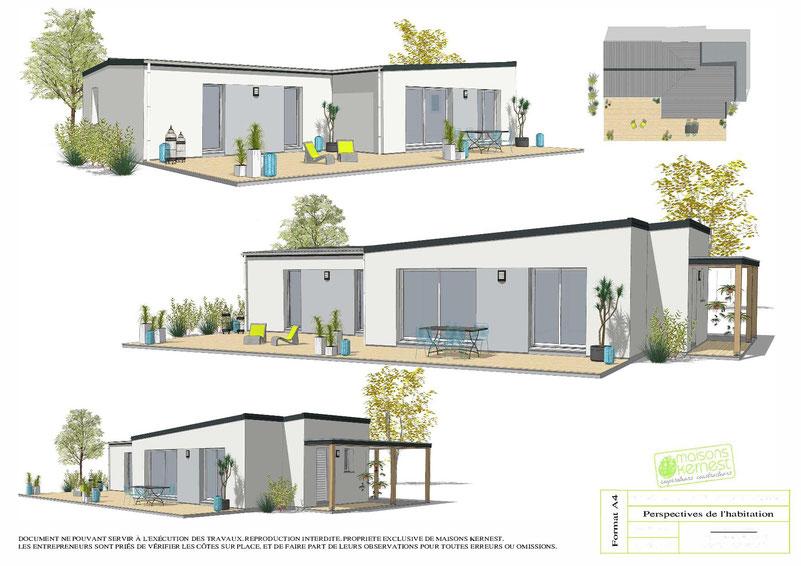Maisons Kernest, lle constructeur en coopérative à choisir pour construire sa maison neuve sur un terrain à Avessac (44460)