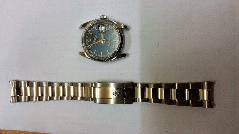 Bracelet deux tons ROLEX