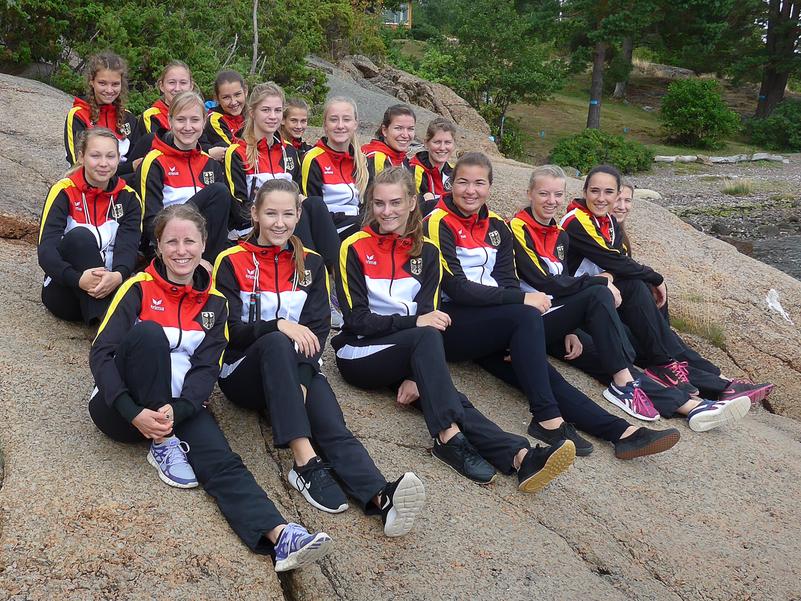 Jumpinos Gruppenbild 2017 Norwegen