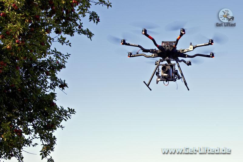 Alexa Mini Kamera Drohne Oktokopter Hamburg