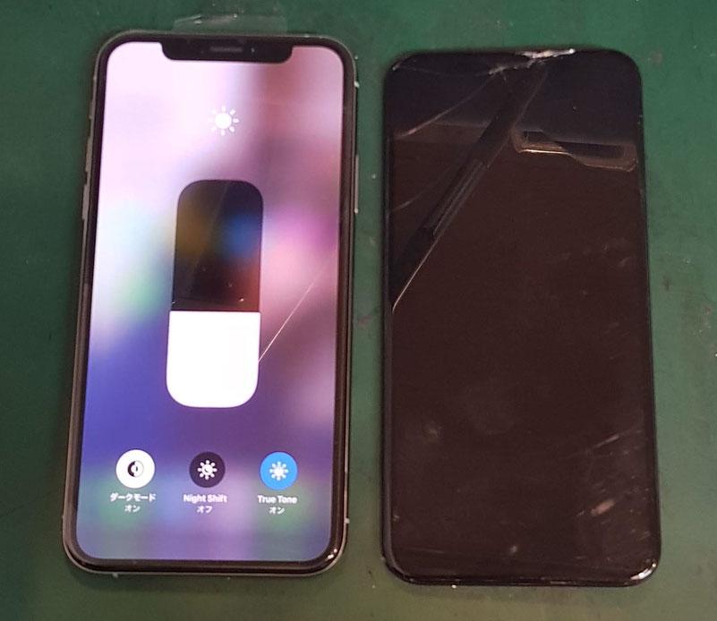 iPhoneX/XS画面修理