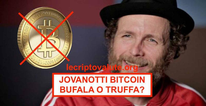 Jovanotti Bitcoin: bufala o truffa opinioni vere