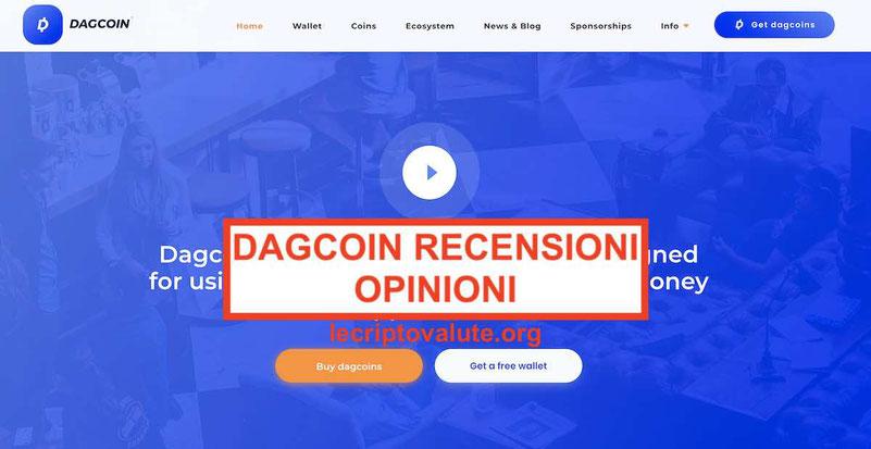 Come comprare Dagcoin (DAG) Recensioni truffa o funziona