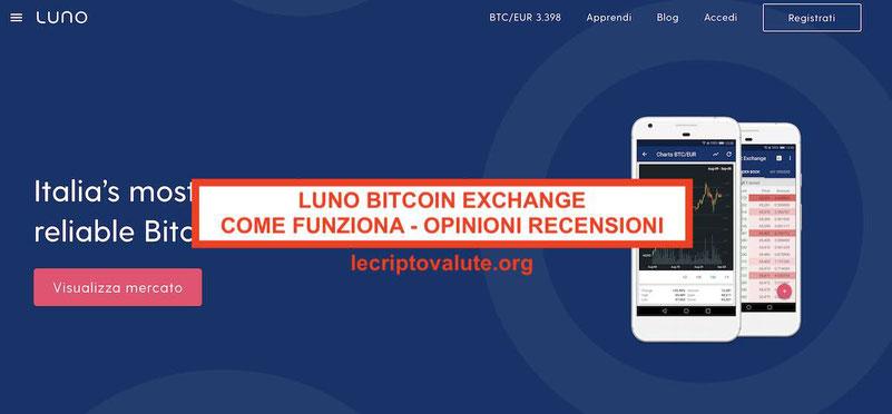 Luno Bitcoin Exchange criptovalute: Guida completa per principianti