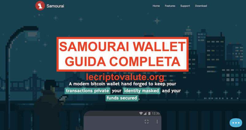 Samourai Bitcoin Wallet recensioni opinioni: Guida completa