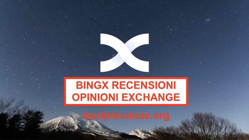 Bingbon recensioni opinioni exchange: trading derivati