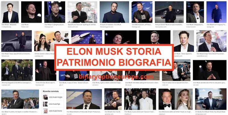 Elon Musk patrimonio: biografia moglie, figli Storia aziende