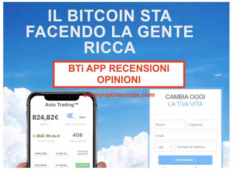 BTi app BitQH recensioni opinioni– Truffa esposta