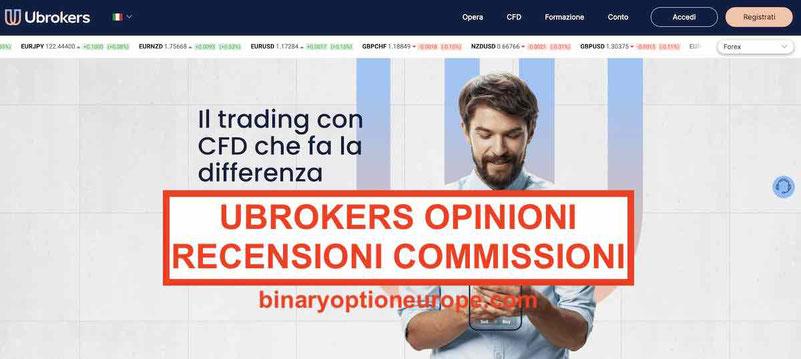 Ubrokers recensioni opinioni: funziona, truffa Guida Italia