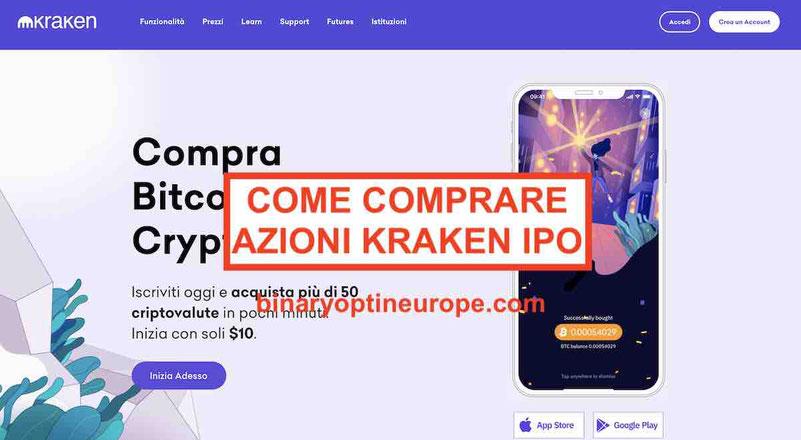 Dove e come comprare azioni Kraken IPO Previsioni prezzo