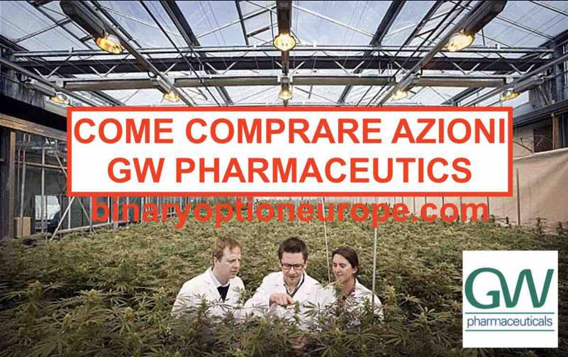 Comprare azioni GW Pharmaceuticals Italiano quotazione: migliori broker