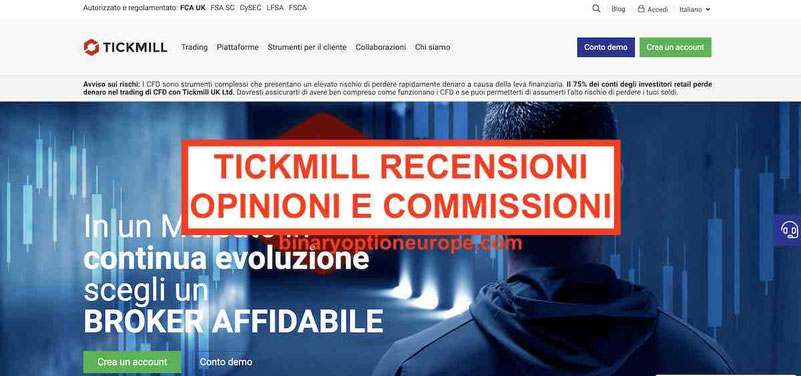Tickmill recensioni opinioni Commissioni e alternative
