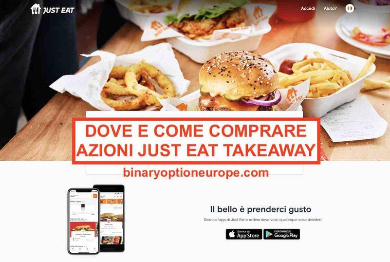 Dove e come comprare azioni Just EatTakeaway Previsioni TKWY