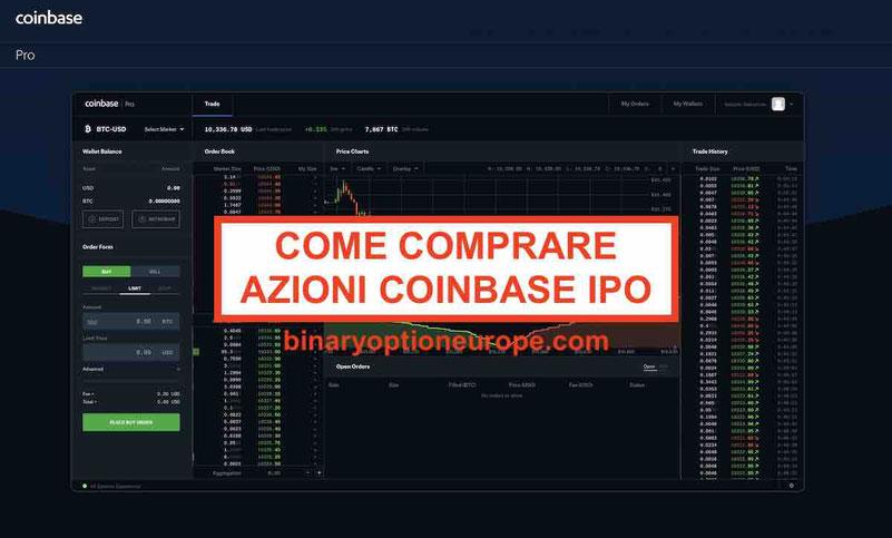 Dove e come comprare azioni Coinbase IPO Previsioni prezzo