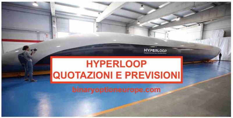 Dove e come Comprare azioni Hyperloop Virgin