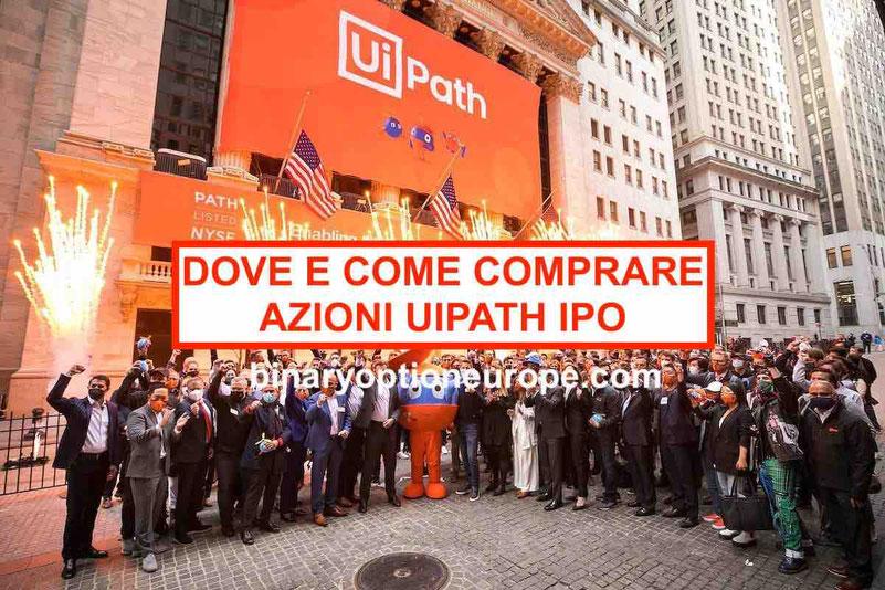 Dove e come comprare azioni UiPath IPO Previsioni e dividendi