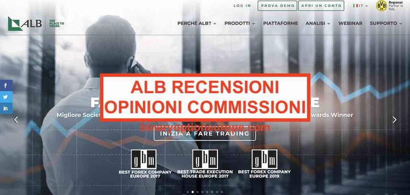 ALB recensioni opinioni Commissioni e Alternative