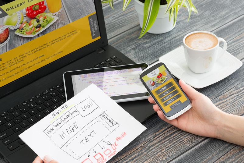 Unternehmens-Web-Seiten oder Bewerbungs-Web-Seiten: Web-Design & -Gestaltung: Web-Design nach Maß - für Ihren optimalen Web-Auftritt