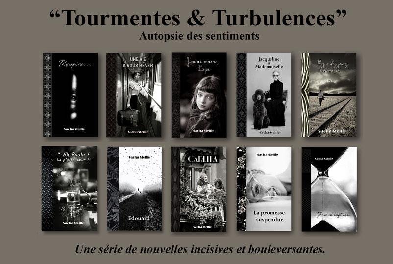 sacha stellie; nouvelles; tourmentes et turbulences; nouveaux auteurs; sortie littéraire; psychologie; roman psychologique
