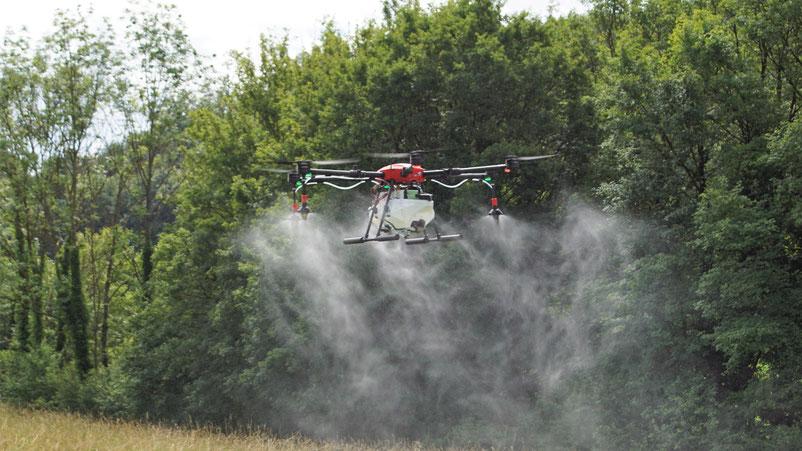 unser neue AGv2 von AERO41......zertifiziert von Agroscope