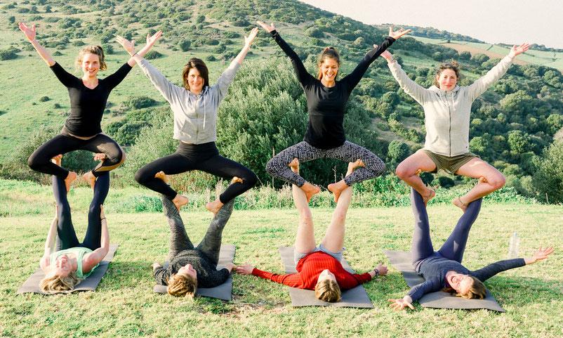 Yoga Auszeit im Urlaub