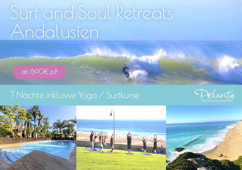 Yoga und Fitness Urlaub Andalusien