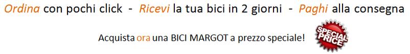 Come ordinare, ricevere e pagare la tua bici Margot