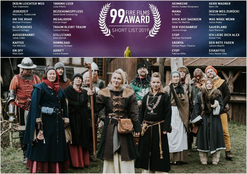 Skorya - 99 Fire Films Award Shortlist 2019 - Filmstill von Thomas Damm, Evi Meinardus: Priesterin Neyra & weitere Schauspieler