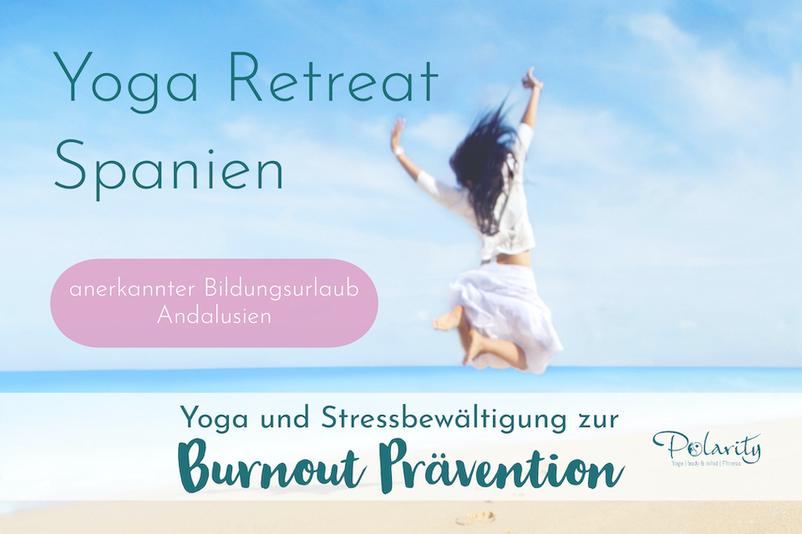 Yoga Bildungsurlaub Burnout Prävention